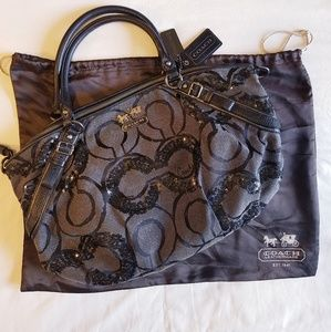 Coach Sophia Madison Op Art Satchel